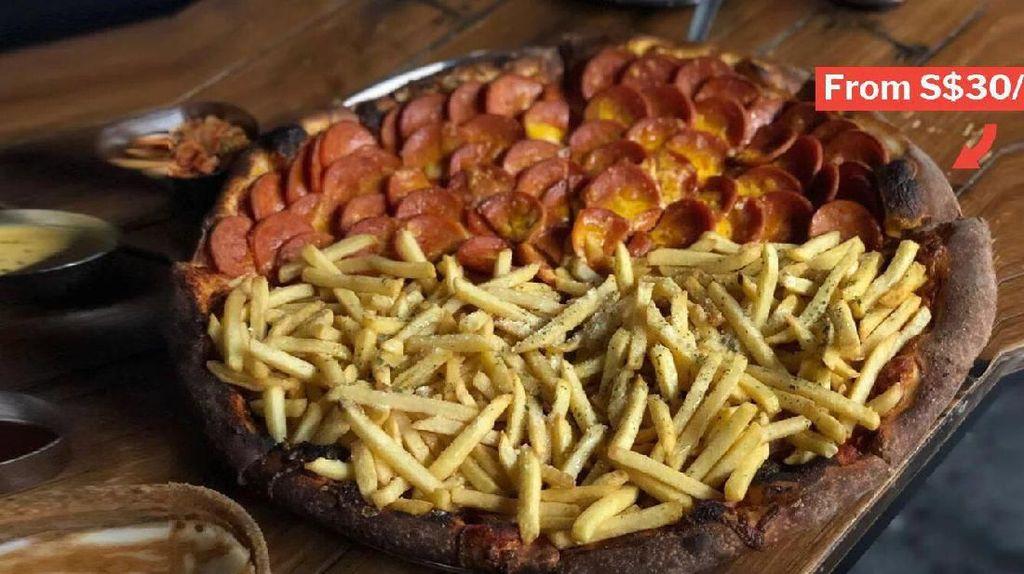 Mau Coba? Ini Pizza Topping Kentang Goreng yang Hits di Korea