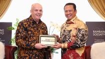Ketua MPR Curhat Masalah Natuna ke Kedubes Amerika Serikat