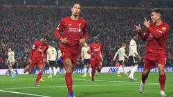Liverpool Vs MU: Gol Van Dijk dan Salah Menangkan The Reds