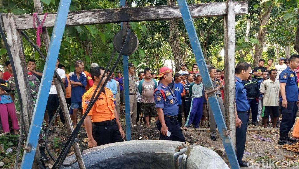 Istri Mantan Kades di Bojonegoro Tewas Ceburkan Diri ke Sumur