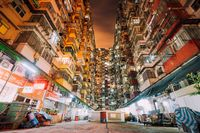 Harga rumah rata-rata di Hong Kong 20 kali lipat dari pendapatan rata-rata penduduknya.