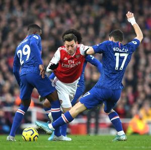 Head to Head Chelsea Vs Arsenal
