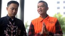 Penampilan Wahyu Setiawan Berompi Tahanan KPK