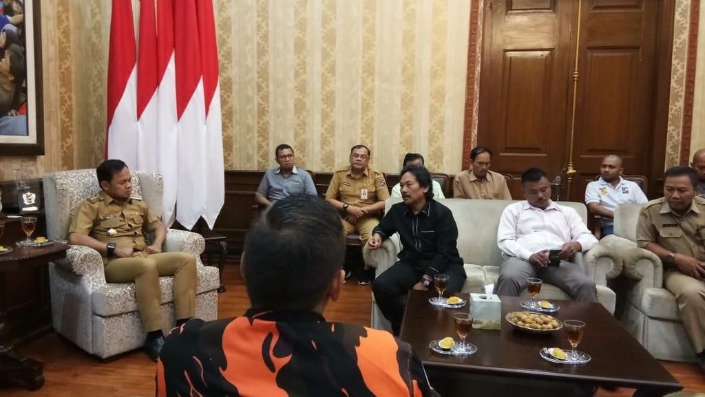 Ormas PP dan BPPKB yang Bentrok Mediasi di Balai Kota Bogor