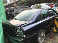 Diselamatkan Fitur Mobil saat Tertabrak Truk di Rest Area Cipularang