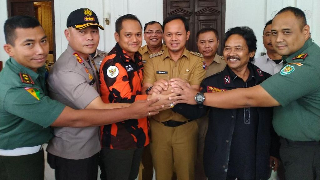 Dimediasi Usai Bentrok di Bogor, Ormas PP dan BPPKB Sepakat Damai