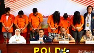 Diciduk Polisi, 6 Pelaku Penjual Anak di Bawah Umur Tertunduk Malu
