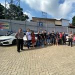 Civic Turbo Jateng-DIY Mlaku-mlaku ke Jawa Barat, Tetap Safety!