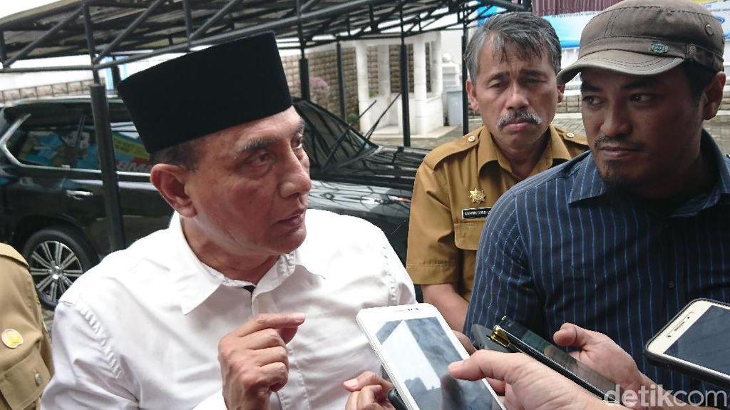 Gubsu Edy Jadi Mediator Tangani Gejolak di DPRD Deli Serdang