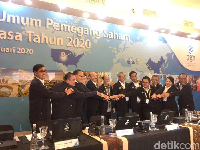 Pengangkatan Arcandra sebagai Komut ini ditetapkan berdasarkan hasil rapat umum pemegang saham luar biasa (RUPSLB) PGN yang digelar di gedung Graha PGAS, Jakarta Barat.