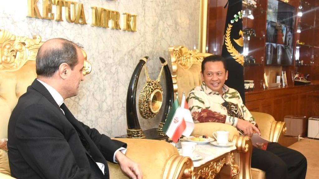 Ketua MPR Dorong Kerja Sama RI-Iran di Sektor Ekonomi hingga Wisata