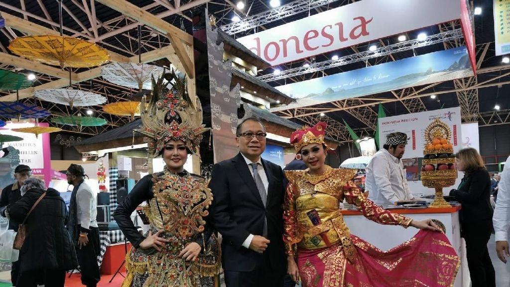 Foto: Incar Turis Eropa, Indonesia Pamer Keindahan di Belanda