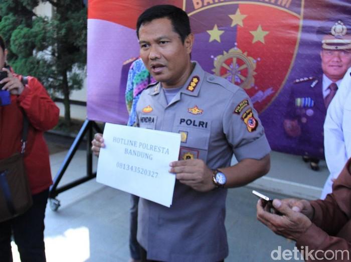 Kapolresta Bandung Kombes Pol Hendra Kurniawan