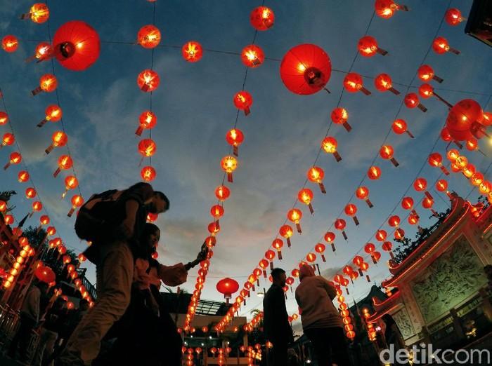 Foto: Antara Foto/Iggoy el Fitra/Gong Xi Fa Cai! Kosakata Bahasa Mandarin Seputar Imlek yang Bisa Dihafal
