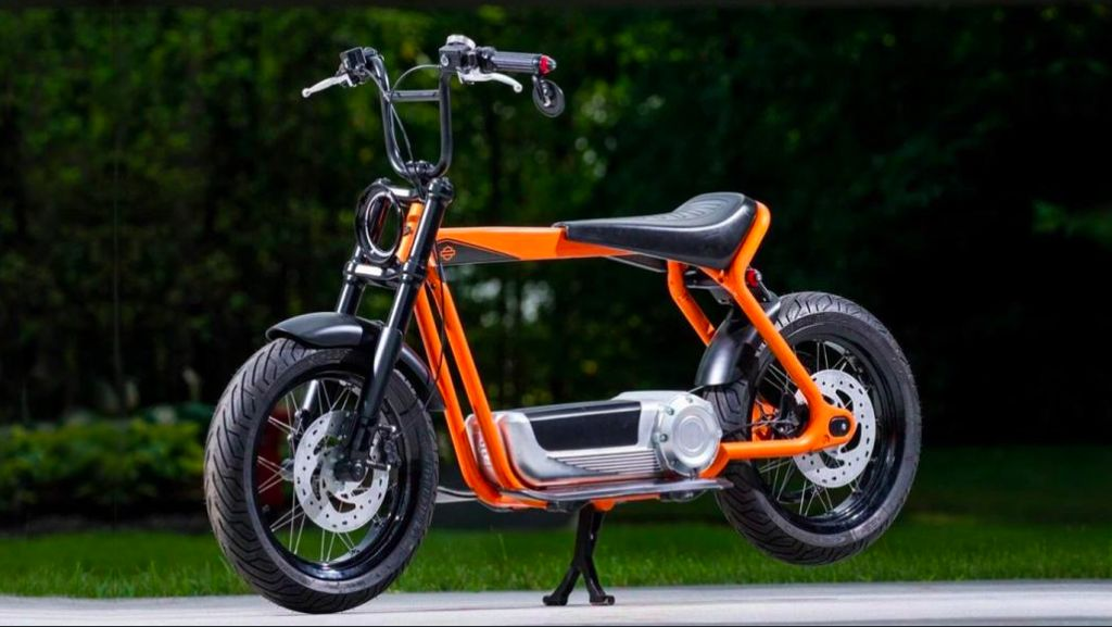 Lucu Banget Skuter Listrik Harley-Davidson