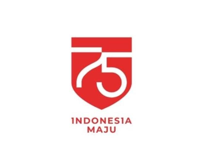 Logo HUT ke-75 RI (Dok. Setneg)