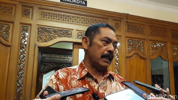 Ketua DPC PDIP Surakarta (Solo) FX Hadi Rudyatmo, Selasa (21/1/2020).