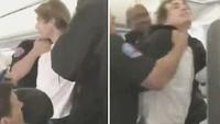 Heboh Penumpang Mabuk Berat, Mau Buka Celana di Pesawat