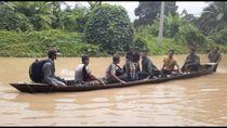 Dua Kabupaten di Sumbar Dilanda Banjir, Jalan Lintas Sumatera Terputus