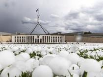 Hujan Es Sebesar Bola Golf di Canberra, Merusak Mobil dan Memecahkan Jendela
