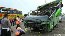 Jumlah Korban Tewas Bus Maut Ciater Subang Jadi 9 Orang