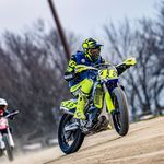 Jelang Tes Pramusim MotoGP, Rossi Geber Motocross