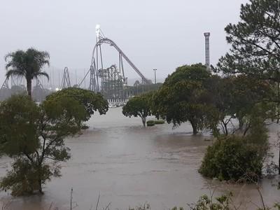 Kebanjiran, Sejumlah Taman Rekreasi Australia Tutup