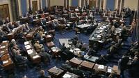 13 Jam Berdebat di Senat, Ini yang Terjadi di Sidang Pemakzulan Trump