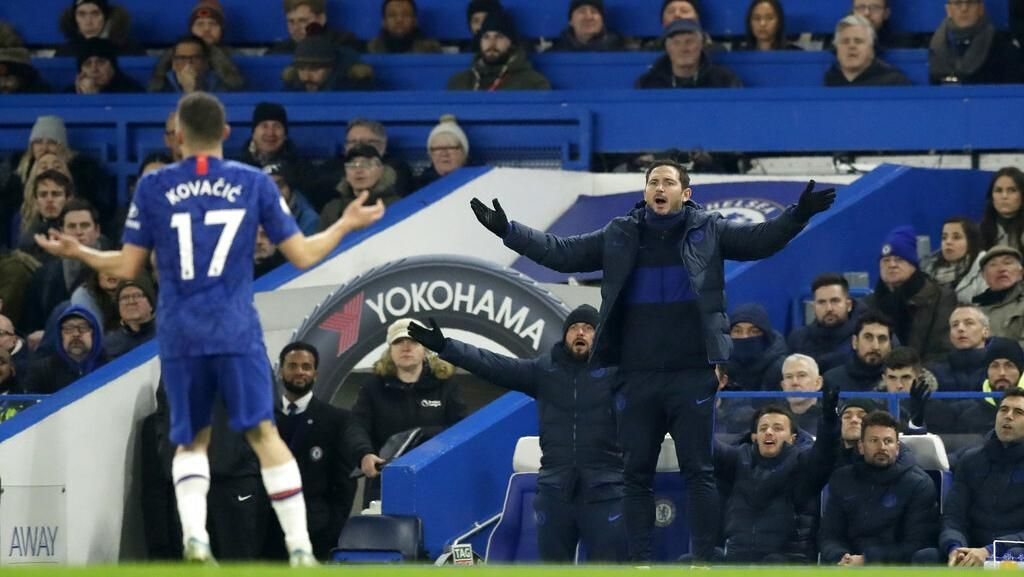 Chelsea Bikin Lampard Frustrasi
