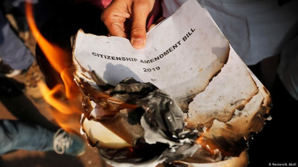 Umat Kristen di India Gelar Aksi Protes UU Kewarganegaraan
