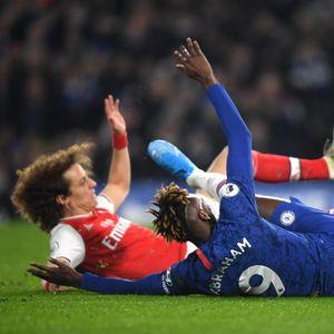 Sengit, Chelsea Vs Arsenal Berakhir 2-2