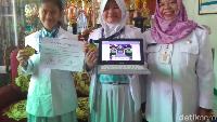 Game Karya Siswi SD Pekalongan Menang Kompetisi Internasional