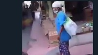 Viral dari Sleman! Video Nenek Ditendang dan Diseretdi Pasar