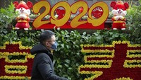 Sedih, Perayaan Imlek di China Dibatalkan akibat Wabah Corona