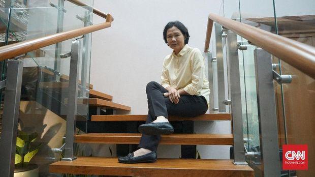 Ivana Lie salah satu legenda badminton Indonesia.