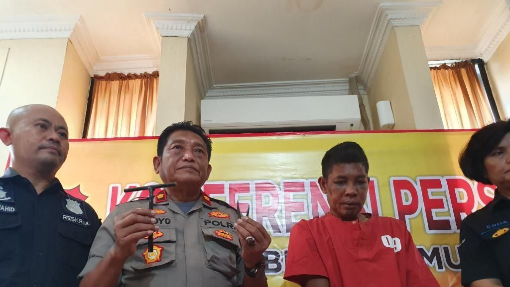Pria di Bekasi Ini Nekat Curi Motor demi Main Judi Online