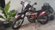 Maling Nekat! Motor Buat Dipakai Baksos Lebak Banten Disikat Juga