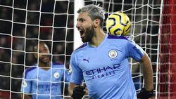 Sheffield vs Man City: Gol Tunggal Aguero Menangkan The Citizens