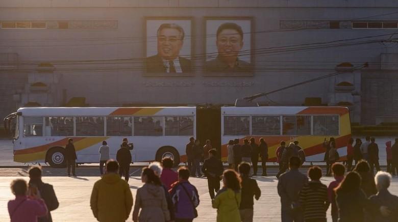 Ilustrasi Pyongyang.