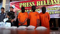 Beli 1,3 Kg Sabu dari Malaysia, Nelayan Asal Tarakan Ditangkap di Pinrang