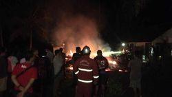 Rumah Dilalap Api di Pangandaran, Kakek Penderita Stroke Tewas Terbakar