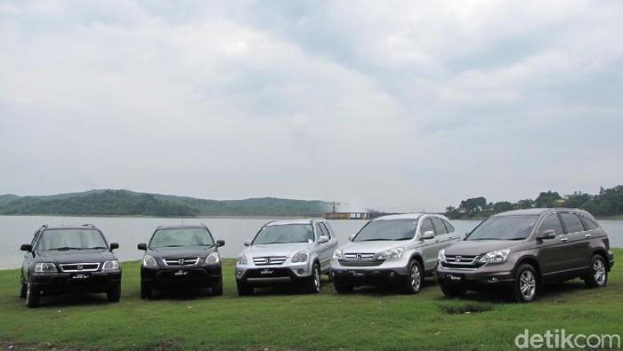 Honda CR-V model awal di Indonesia