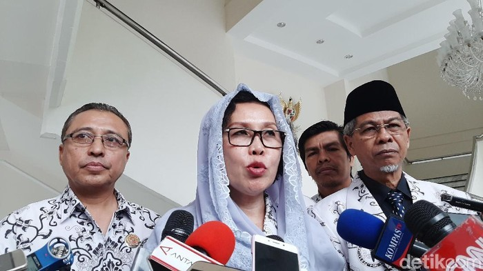 Ketua PGRI, Unifah Rosyidi/Lisye Sri Rahayu