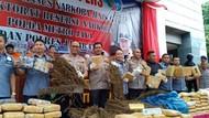 Polda Metro Bongkar 5 Ha Ladang Ganja di Mandailing Natal Sumut
