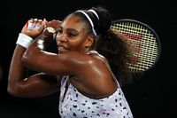 Serena Williams di Australian Open 2020.