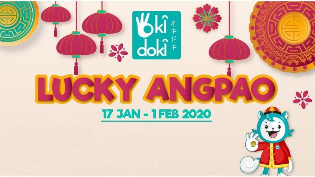 Mau Dapat Lucky Angpao dari Okidoki? Intip Caranya di Sini