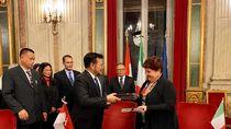 Indonesia dan Italia Tanda Tangani MoU Kerja Sama Pertanian