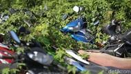 Nasib Ratusan Motor dan Mobil Sitaan Polisi di Teluk Pucung