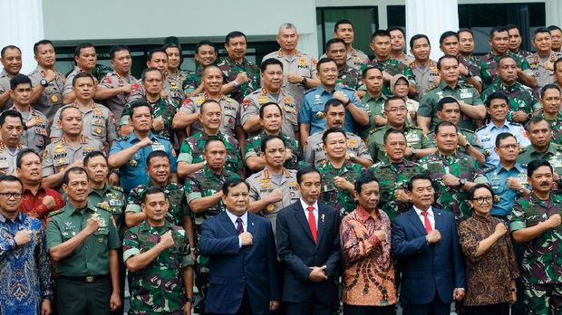 Dalam rapim tahun ini, Jokowi menekankan isu kedaulatan negara.