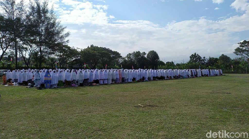Dilanda Kekeringan, Warga Aceh Besar Gelar Salat Istisqa